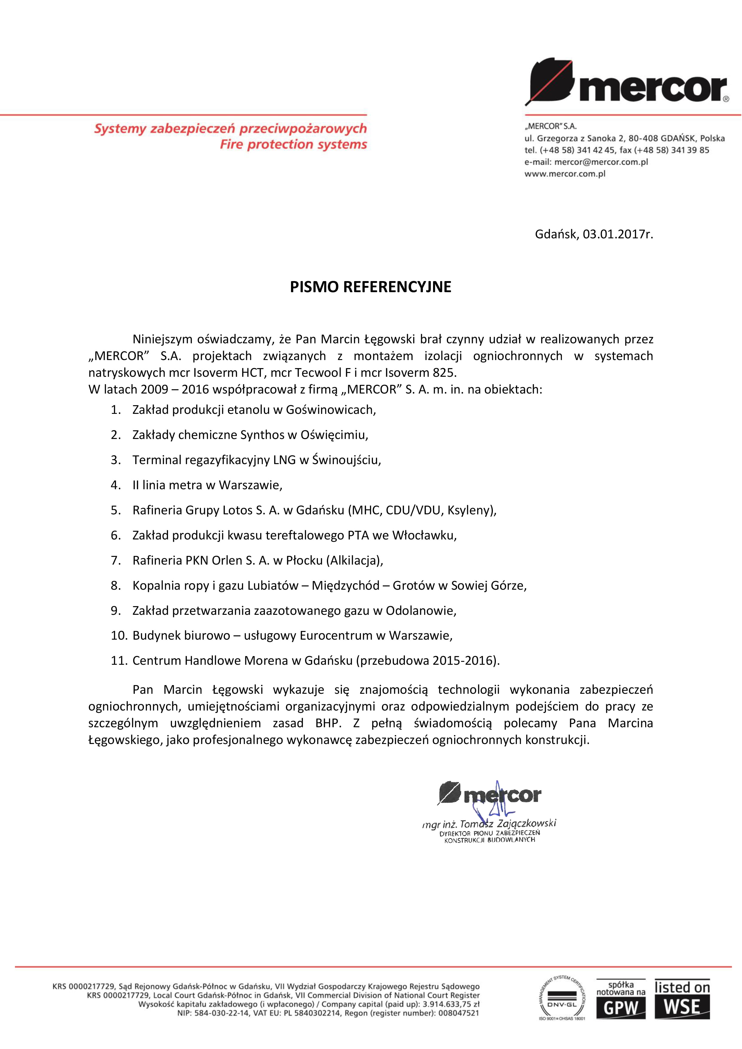 Opinie Marcin Łęgowski FP Serwis