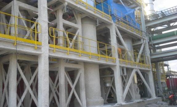 Realizacje FP Serwis – Zabezpieczenia ogniochronne konstrukcji stalowych